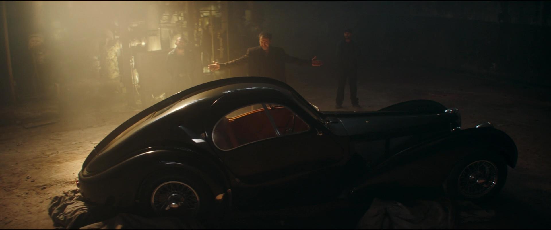 Bugatti Type 57 S Atlantic Car In Overdrive 2017 Movie