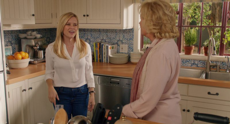 kitchen aide dishwasher contemporary chairs miele used by reese witherspoon in home again ...