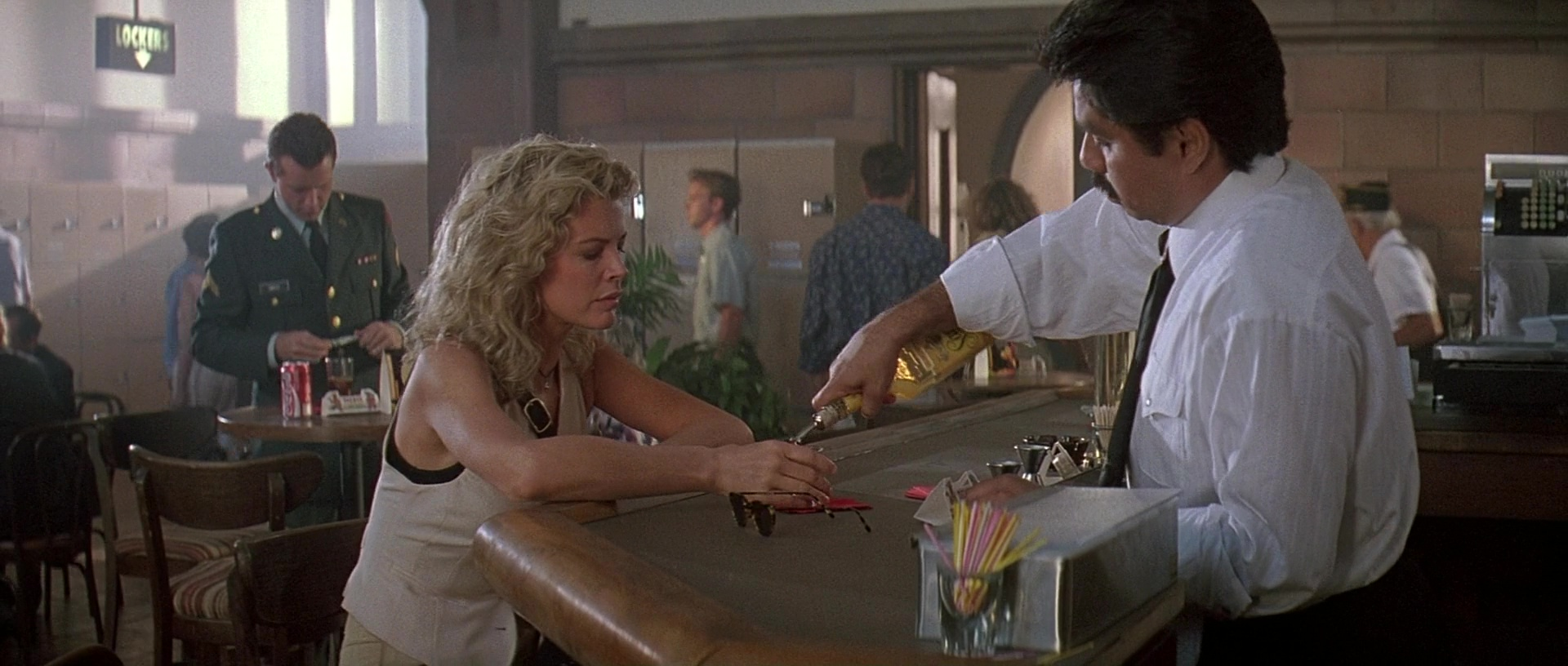 Sauza Tequila and Kim Basinger in The Getaway 1994 Movie