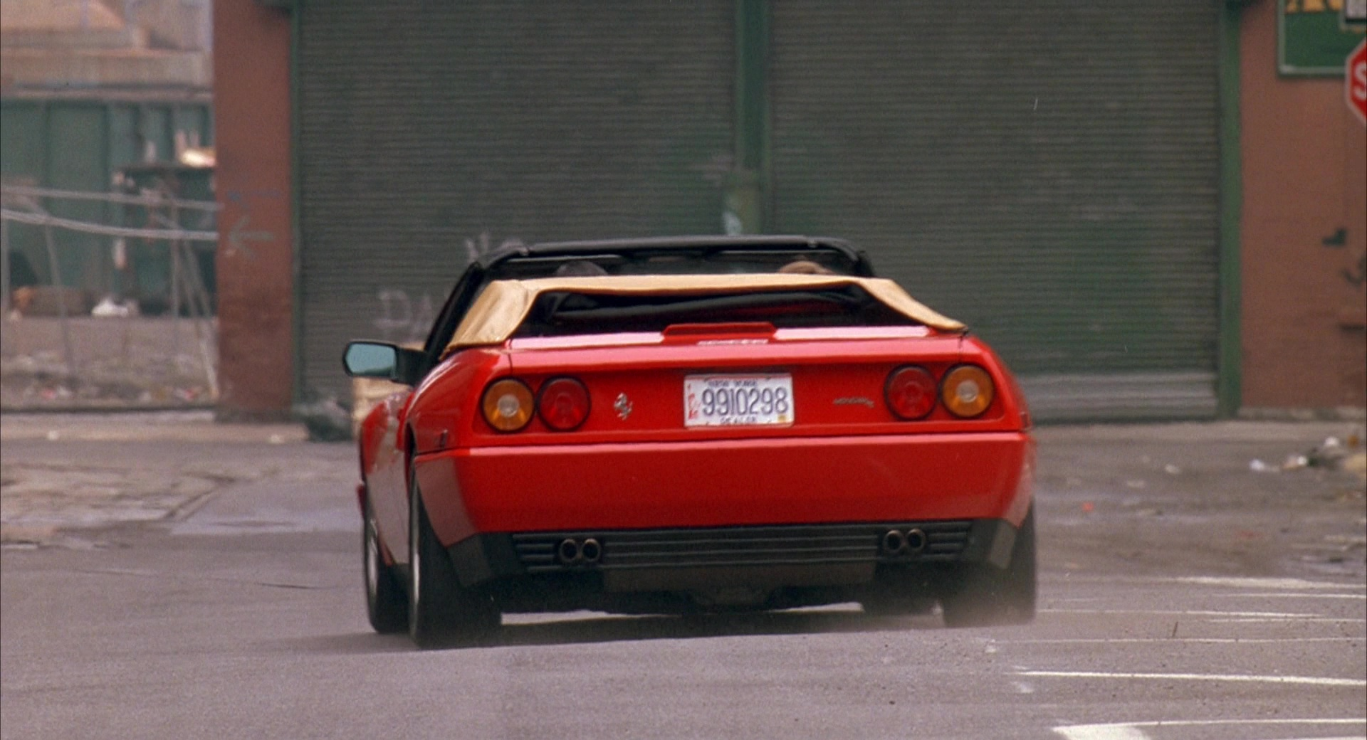 Ferrari Mondial T Sports Car Used By Chris O Donnell And