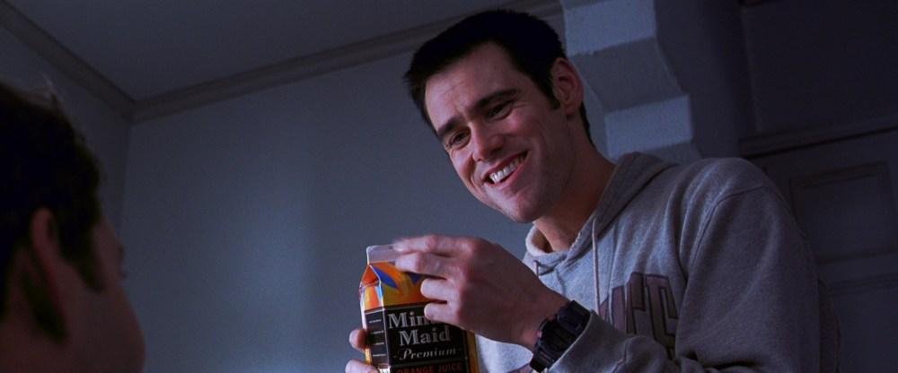 medium resolution of minute maid premium orange juice and jim carrey in the cable guy 1996