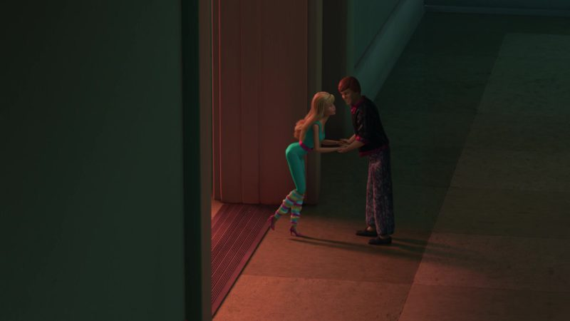 Barbie And Ken Dolls In Toy Story 3 2010 Animation Movie