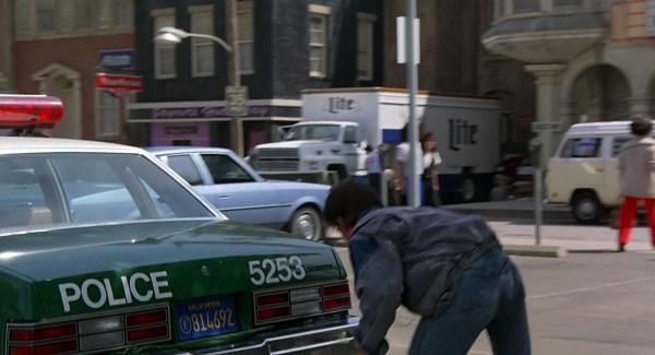 Miller Lite Beer Truck In Future 1985 Movie