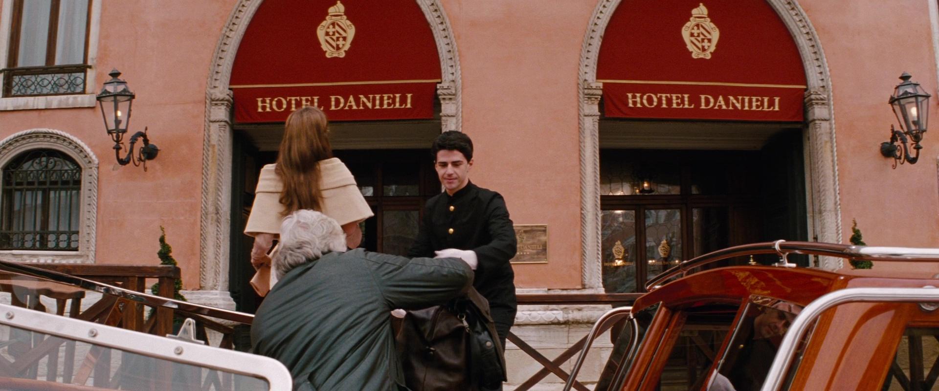 Hotel Danieli Venice Italy In The Tourist 2010 Movie