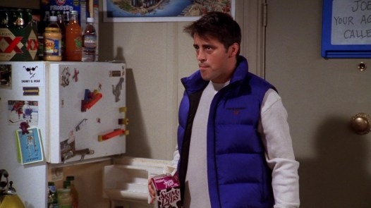 Decorative image of Joey from friends