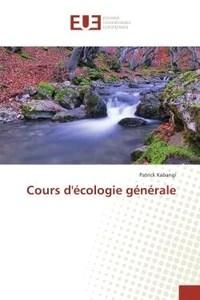 précis d'écologie générale