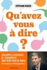 Stéphane Roger - Qu'avez-vous à dire ?.