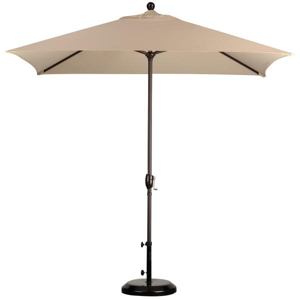 8' x 6' Rectangular Market Umbrella