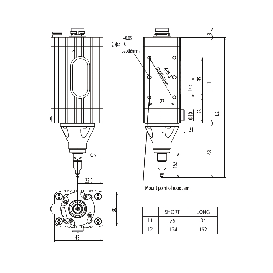 Low Torque Electric Screwdriver