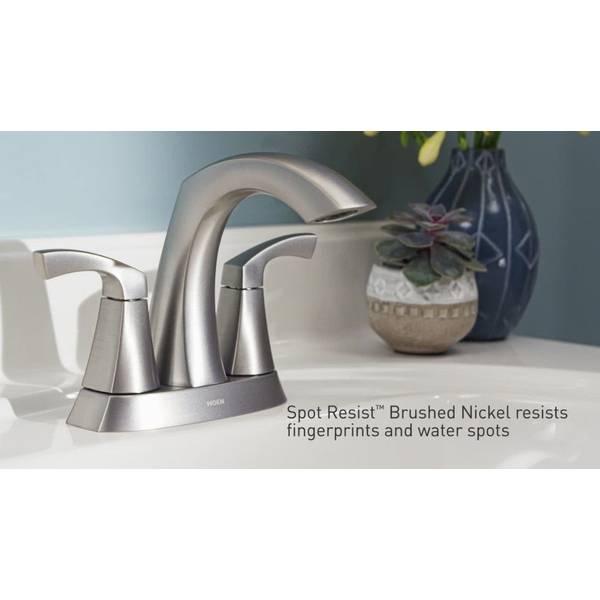 nickel lindor two handle faucet
