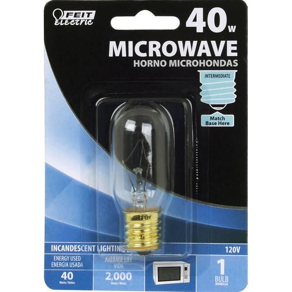 40 watt incandescent t8 microwave light bulb