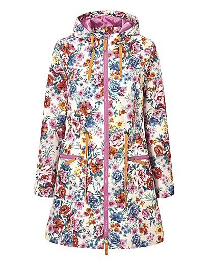 Joe Browns Floral Parka Style Mac