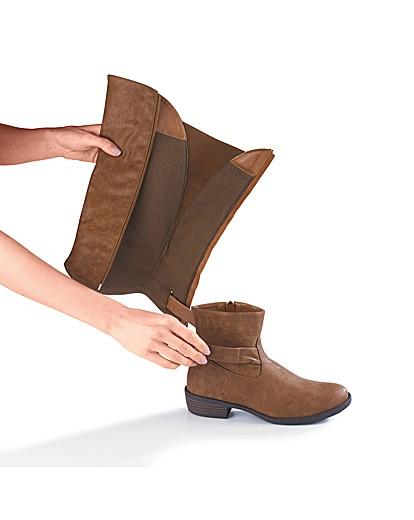 Legroom Wear Two Ways Boot EEE Fit