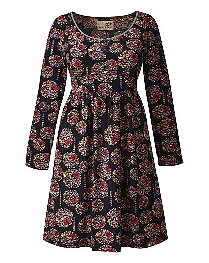 Floral print dress from Simply Be