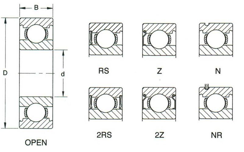 6206 Bearing Dimensions