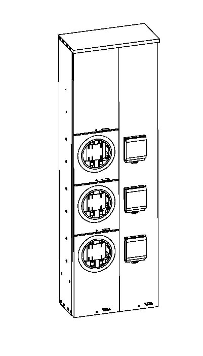 Self-contained metering (Stand-alone) On Erickson