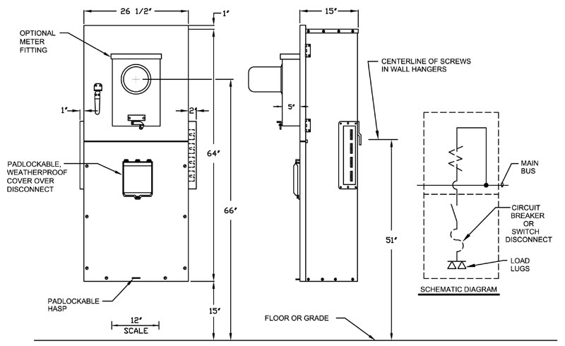 60 amp fusible disconnect wiring diagram