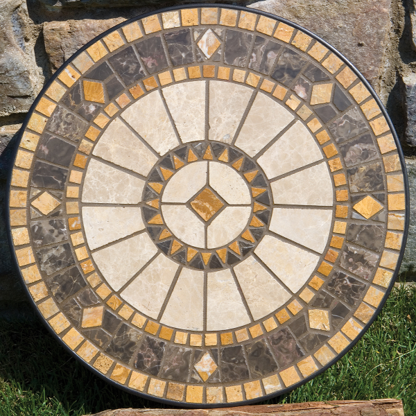 Blogs Alfresco Home Offers Historic Mosaic Style For