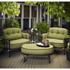 Swivel Club Chair With Ottoman Comfortable Sitting Chairs Athens Deep Seating By Meadowcraft | Outdoor Furniture Family Leisure