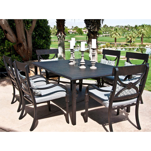 dining chair width cape coral dining patio set by leisure select family leisure