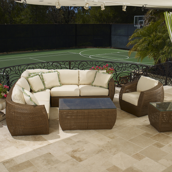 Huntington Sectional Collection By Sunset West  Family