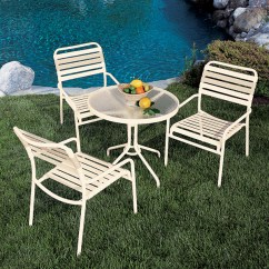 Outdoor Aluminum Chairs Therapist Chair For Sale Blogs Patio Furniture Care Ideas Resources Kahana Strap By Tropitone All Three Of These Categories