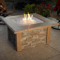 Sierra Fire Pit Table - Square by The Outdoor GreatRoom ...