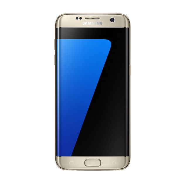 Samsung Galaxy S7 Edge, 32GB Gold Platinum (CDMA)