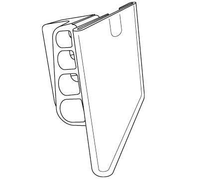 Part # 109500, Four-Wire Top Insert Label Holder For Scan