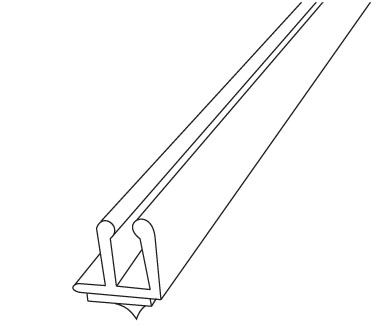 Part # 108767, Contoured Low Profile Front Fence On Kinter
