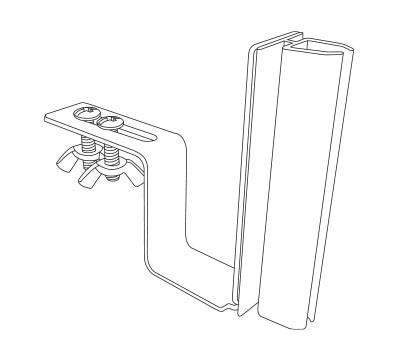 Part # 106947, K-Frame Under-Shelf Hardware-Mount Holder