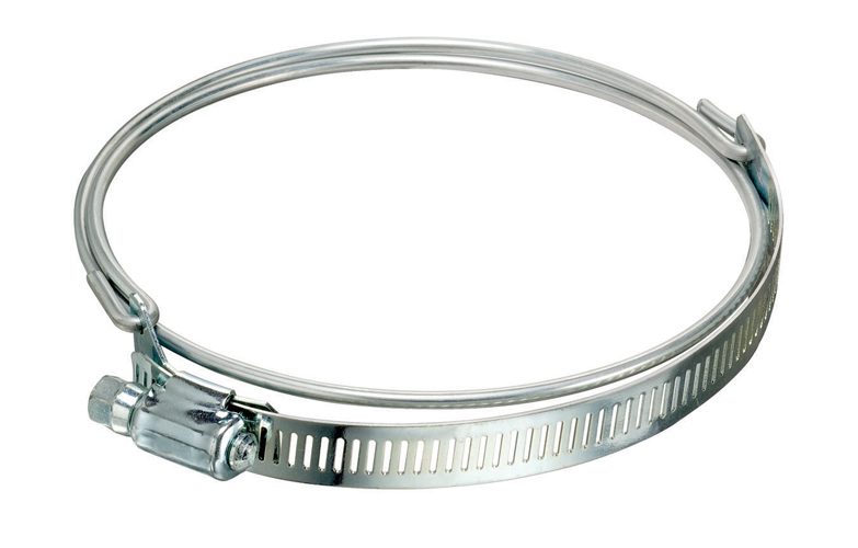 Bridge Clamp for Ducting Hoses 300 Stainless Worm Gear