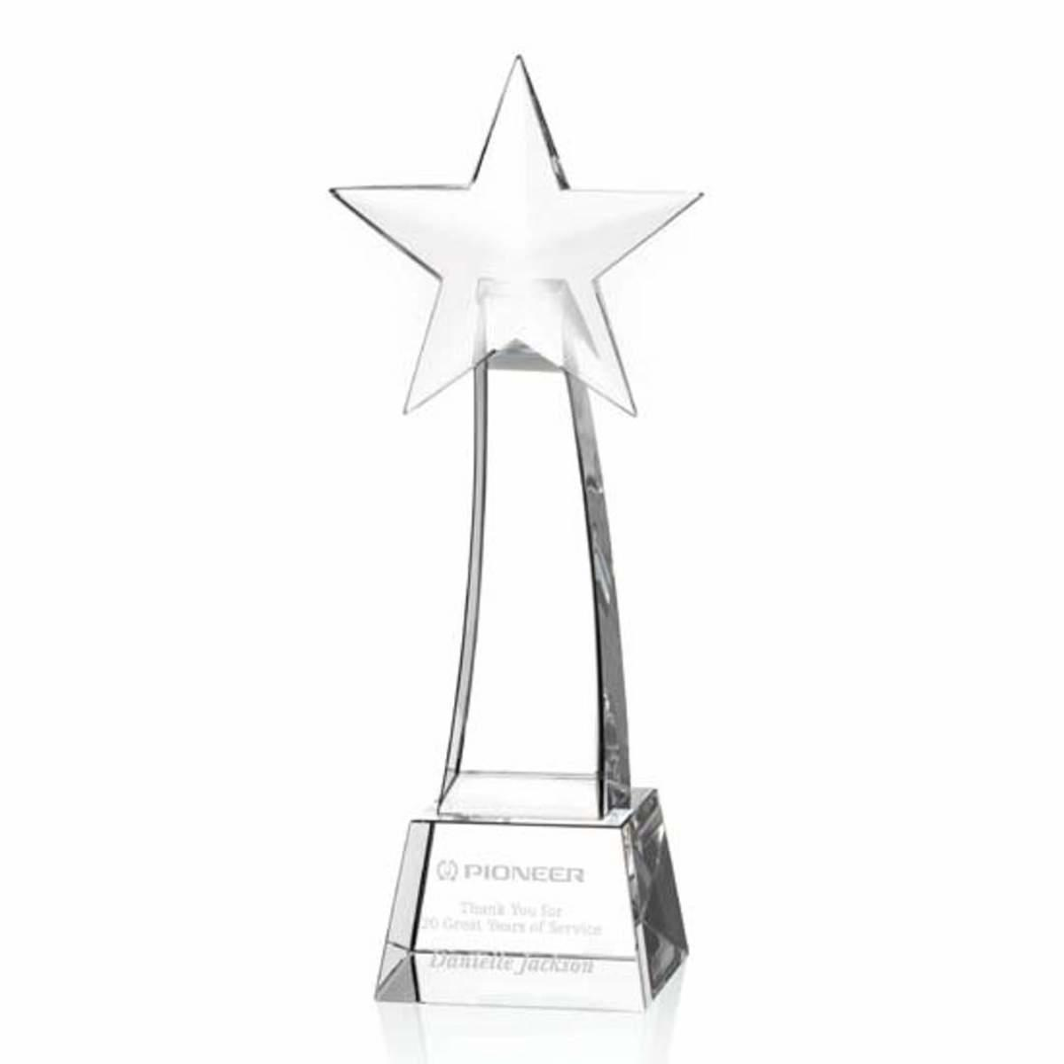 Promotional Anson rising star award Personalized With Your