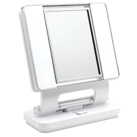 OttLite Natural Lighted Makeup Mirror White | Vanity ...