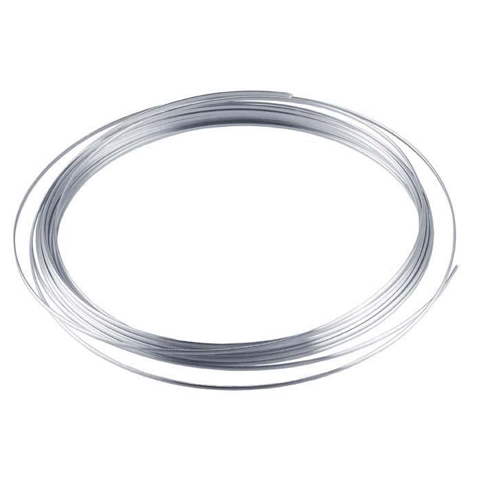 Beadalon® German-Style Silver-Plated 20-Ga. Half-Round