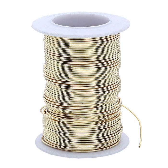 Wire Elements Craft Wire Gold 20ga