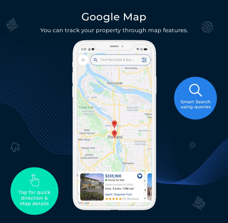 onProperty - Real Estate App Template for Flutter (Android and IOS) - 11