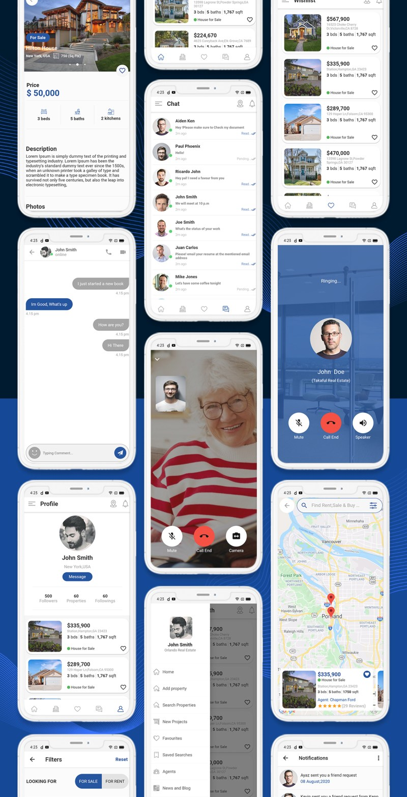 onProperty - Real Estate App Template for Flutter (Android and IOS) - 13