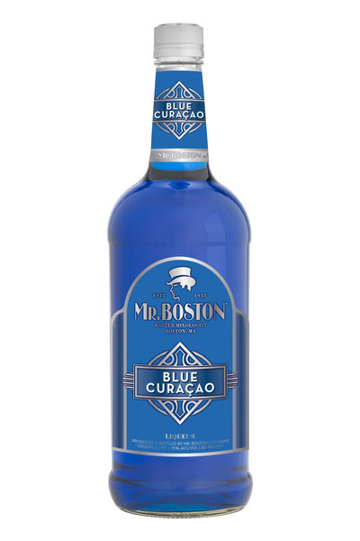 Mr. Boston Blue Curacao Price & Reviews | Drizly