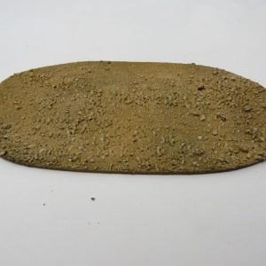 "Large Baseboard desert textured15x7"""