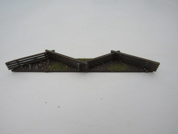 """Spanish Wall 1"""" high with gate"""
