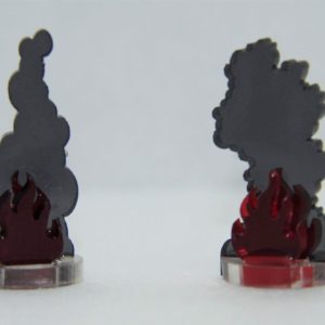 Flaming Wreckage Markers