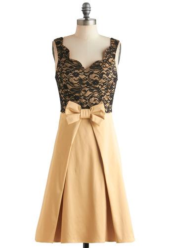 Live  Love  Lavender Dress in Gold