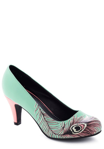 Proudly Posh Heel in Mint from ModCloth