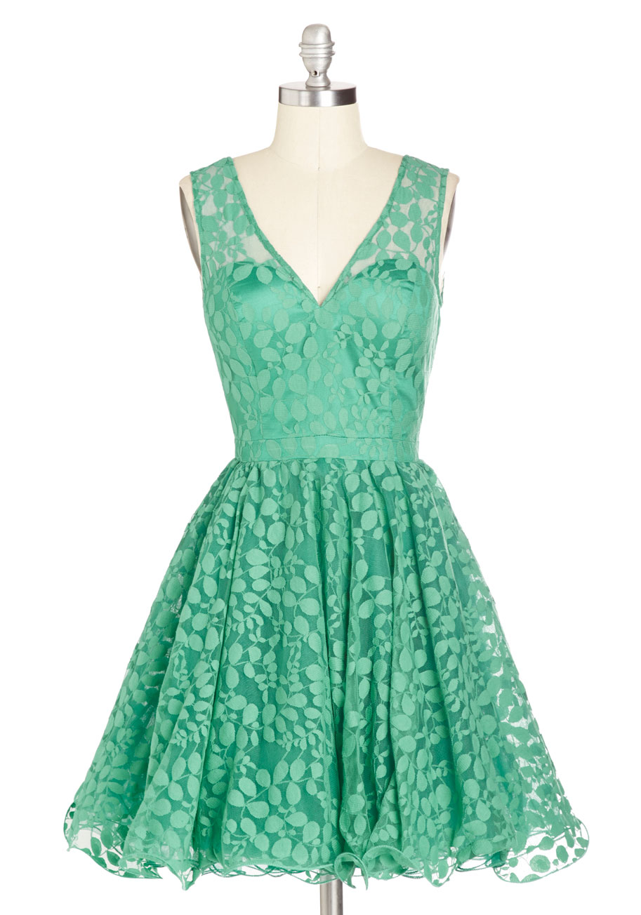 Darling Dress In Jade Mod Retro Vintage Dresses