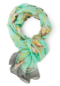 Time to Accessorize Scarf | Mod Retro Vintage Scarves ...