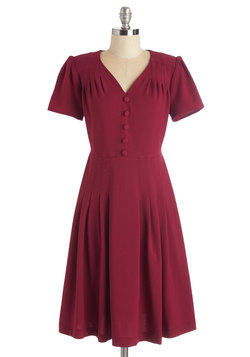 let's go to the shop dress in cherry (modcloth)