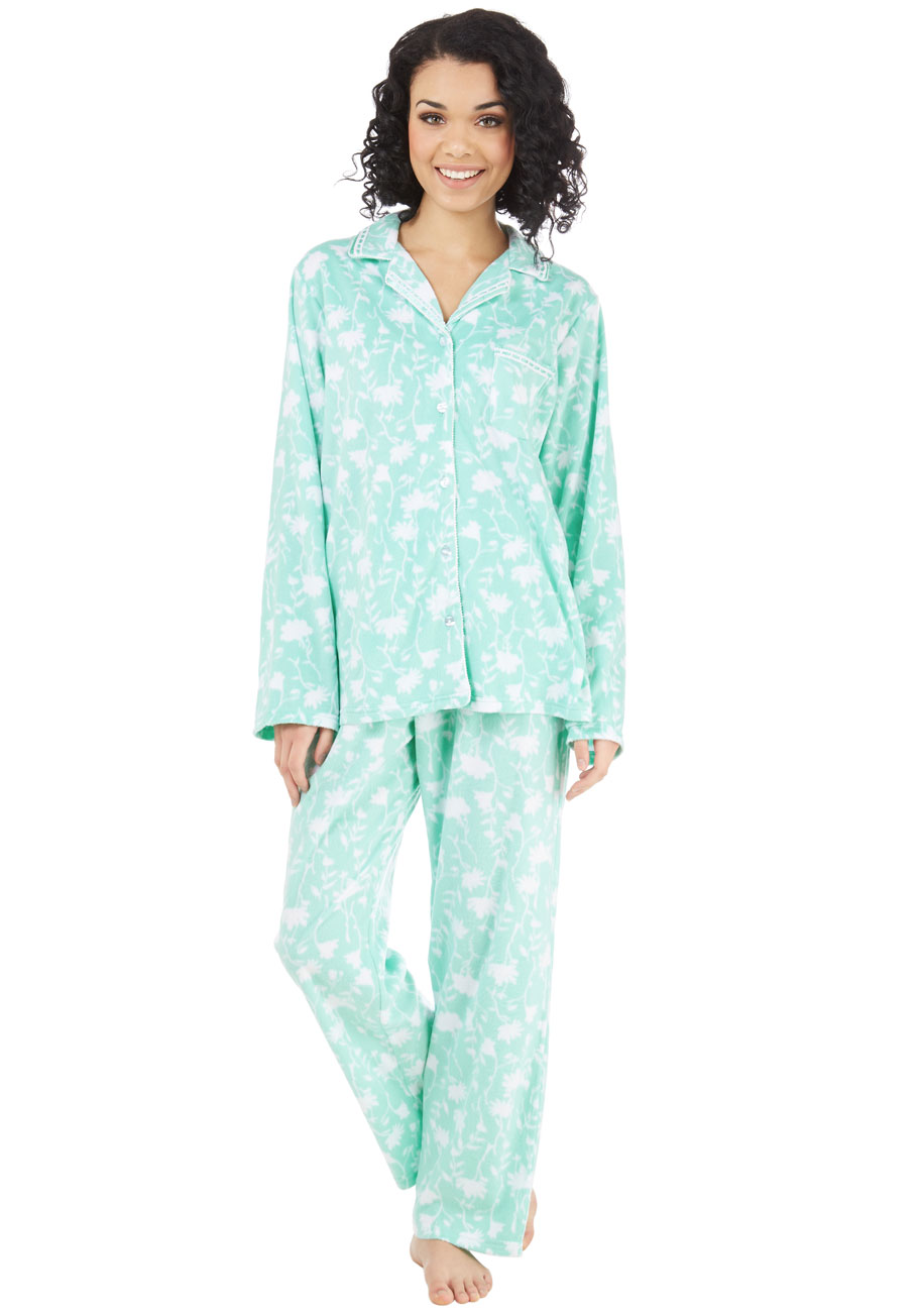 That's Great Snooze Pajamas in Floral | Mod Retro Vintage ...