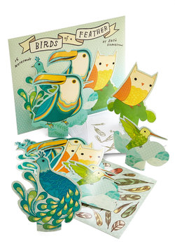 Each and Aviary One Notecard Set