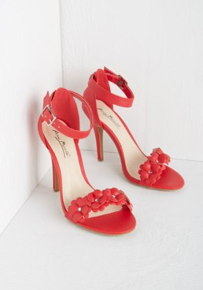 All Fleur You Heel in Crimson